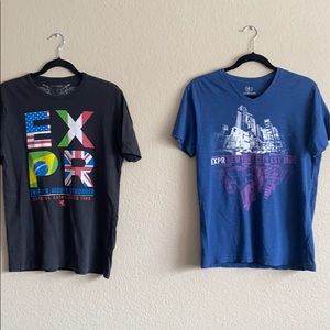 Express Pack of 2 Graphic Tshirts